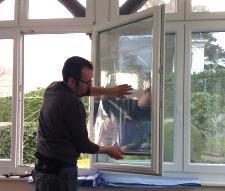 Folien für den Hitzeschutz