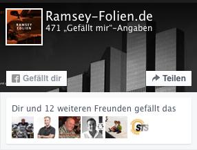 Ramsey-Folien auf Facebook