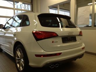 Audi Q7 mit hochwertiger Sonnenschutzfolie