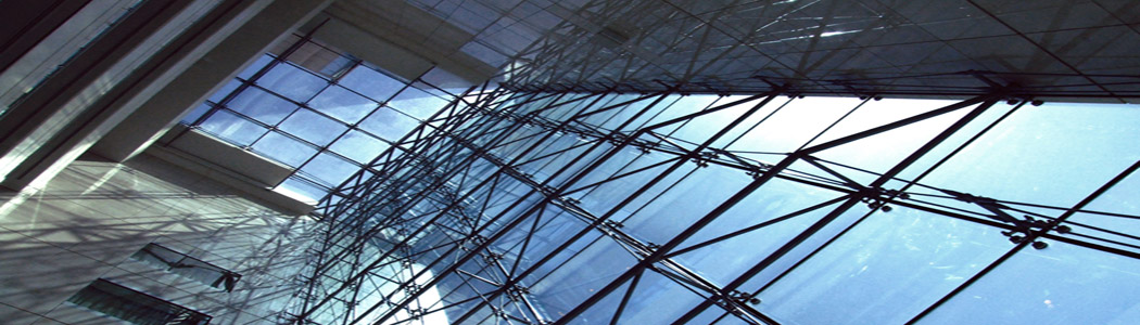 Sonnenschutzfolien auf einer Glasfassade