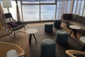 Glasdekor Kreuzfahrtschiff